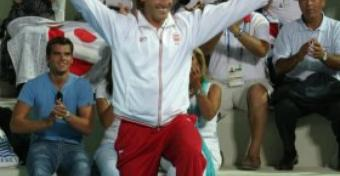 """Specjalnie dla """"Żagli"""" mówi ZBIGNIEW KUSZNIEREWICZ - ojciec i trener Mateusza, brązowego medalisty XXVIII Igrzysk Olimpijskich w klasie Finn"""