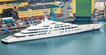 10 największych jachtów świata - RANKING