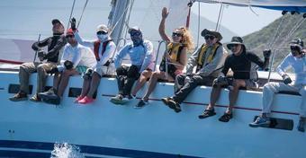 W St. Maarten Heineken Regatta znakomicie wystartowali polscy żeglarze z Chicago